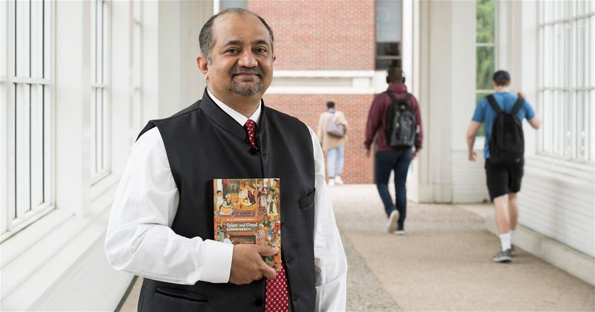 "UD Prof. Muqtedar Khan recently wrote a book entitled, ""Islam and Good Governance: A Political Philosophy of Ihsan."""