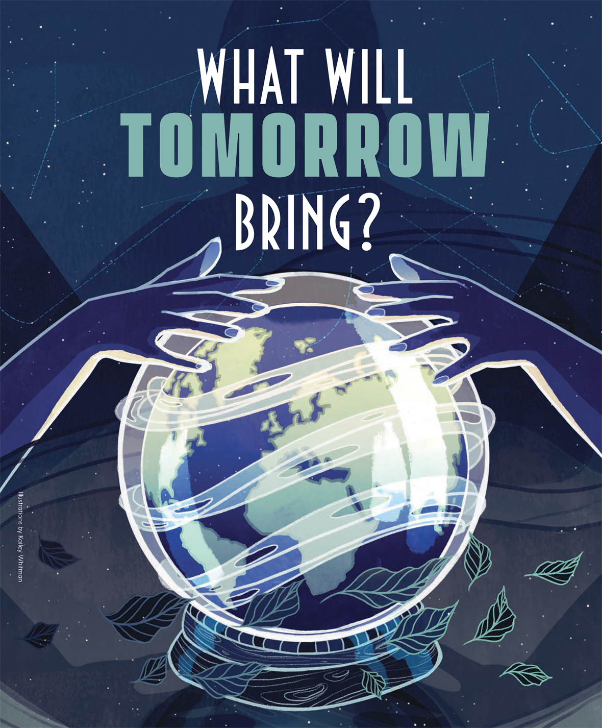 """What Will Tomorrow Bring?"" appears in UD Magazine, Volume 26, Number 3"